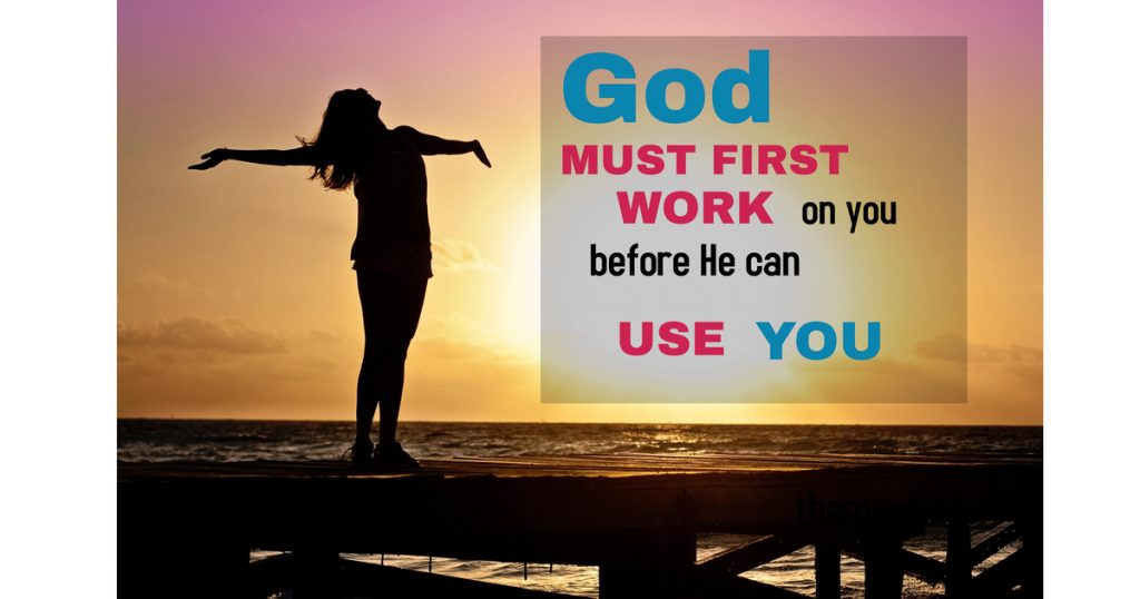 God can use you image