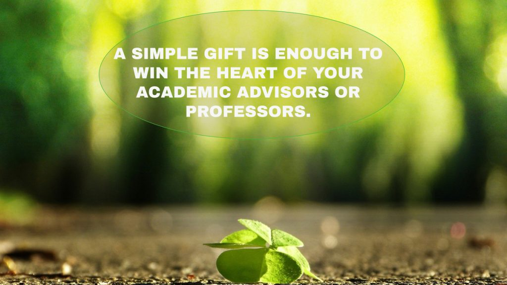 a simple gift is enough
